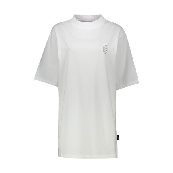 تی شرت آستین کوتاه زنانه مدل MVP رنگ سفید