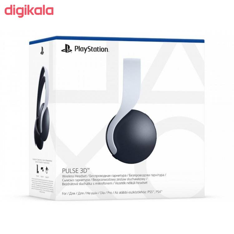 هدست گیمینگ سونی پلی استیشن ۵ مدل PLUS 3D main 1 4