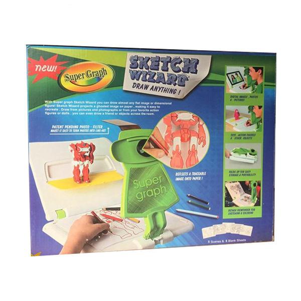 بازی آموزشی نقاشی مدل سوپر گراف کد 03