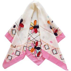 روسری دخترانه مدل گل کد san_022