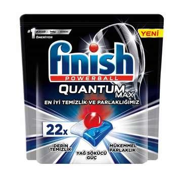 قرص ماشین ظرفشویی فینیش مدل Quantum Max بسته 22 عددی