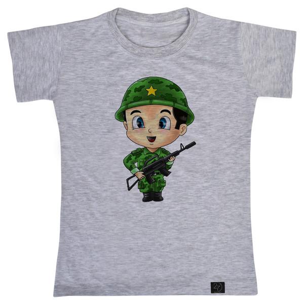 تی شرت پسرانه 27 طرح سرباز کد J03