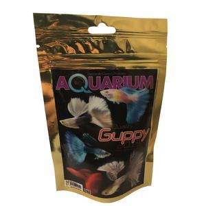 غذای ماهی آکواریوم گوپی مدل g-2015 وزن 100 گرم