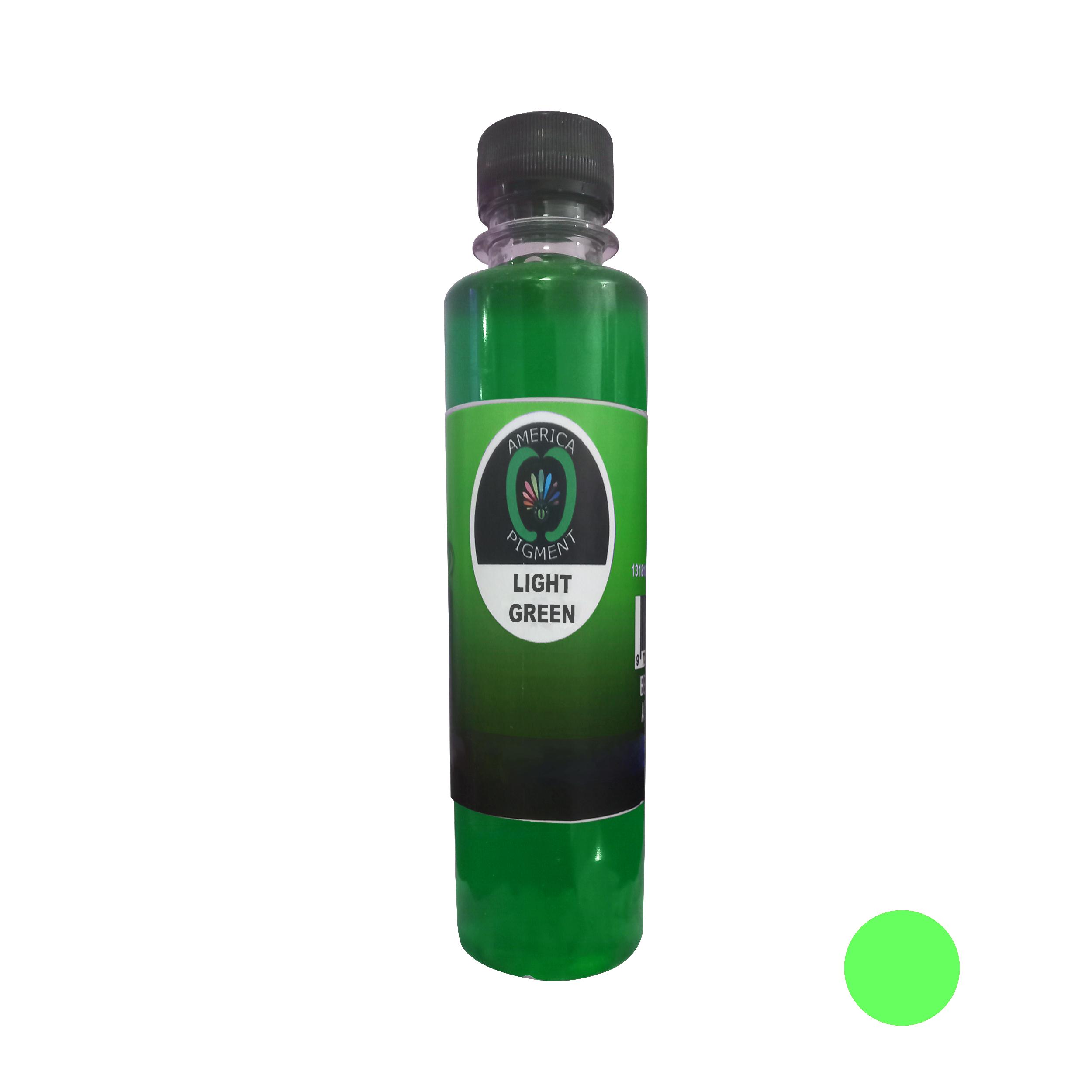 لیکویید رنگ مو آمریکاپیگمنت شماره 006 حجم 250 میلی لیتر رنگ سبز
