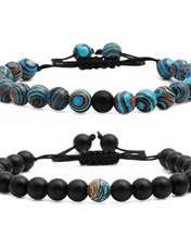 دستبند زنانهذاریات مدل MO270 مجموعه دو عددی -  - 2