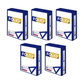 کاغذ A4 فولیو پرایم مدل +A بسته 2500 عددی