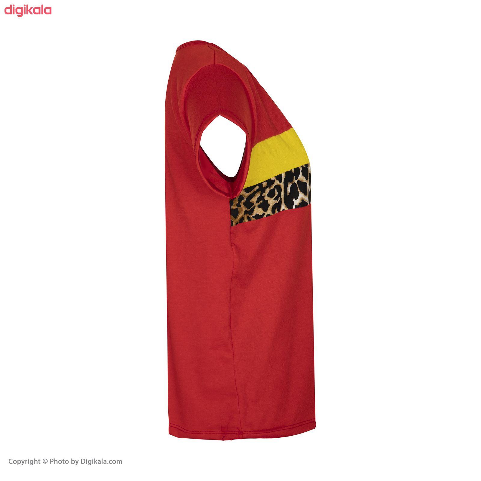 ست تی شرت و شلوار زنانه مدل SM06 main 1 4