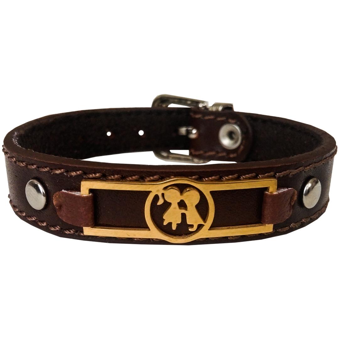 دستبند چرم وارک مدل آسو کد rb263