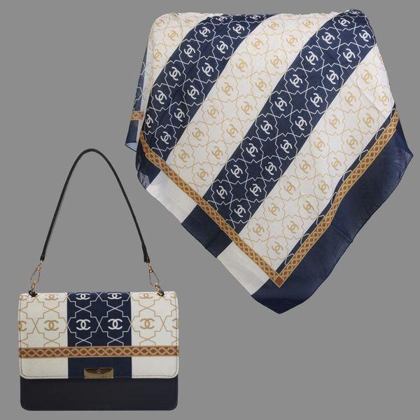 ست کیف و روسری زنانه کد T2-990427 غیر اصل