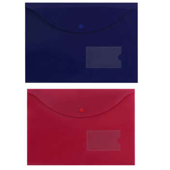 پوشه دکمه دار پاپکو مدل A4-116bm