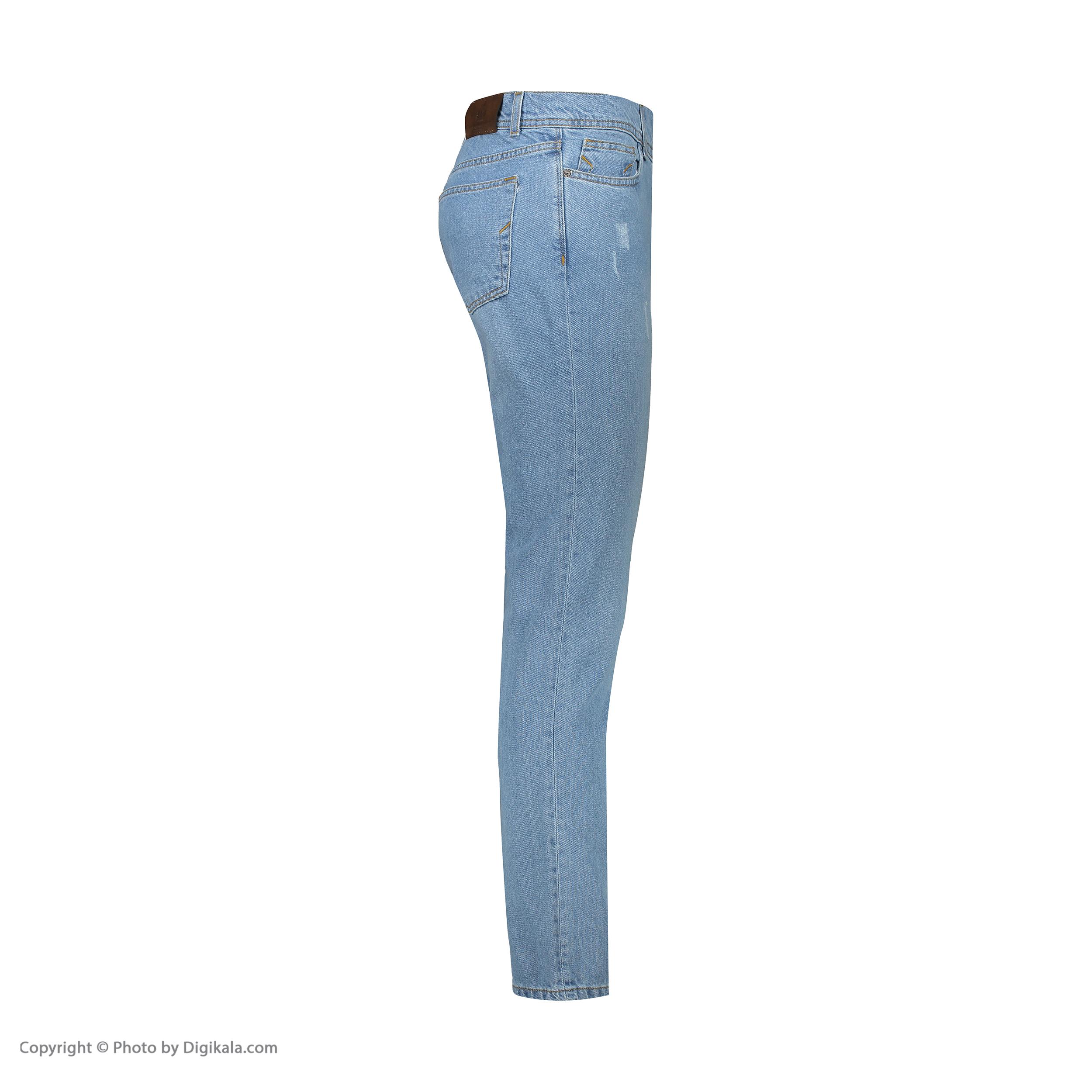 شلوار جین مردانه آر اِن اِس مدل 133046-50