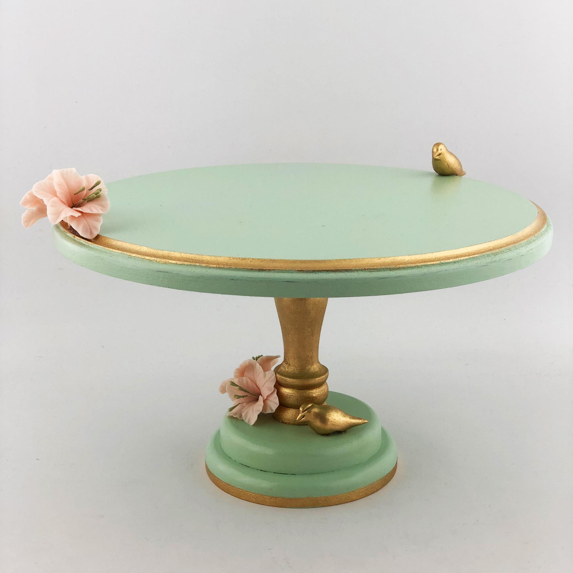کیک خوری طرح گل و پرنده مدل gz99228 main 1 3