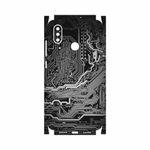برچسب پوششی ماهوت مدل Black Printed Circuit Board-FullSkin مناسب برای گوشی موبایل شیائومی Mi 8