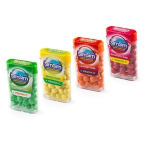 قرص خوشبو کننده دهان سیم سیم مدل ویتامین C بسته 4 عددی