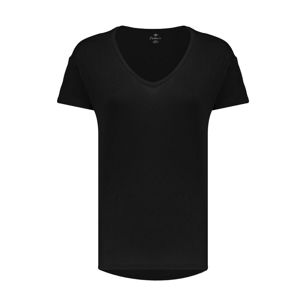 تصویر تی شرت زنانه کالینز مدل CL1013893-BLACK