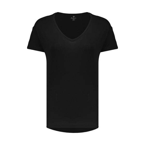 تی شرت زنانه کالینز مدل CL1013893-BLACK
