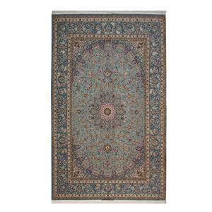 فرش دستبافت هفت و نیم متری حاج باقری کد 1105679 یک جفت