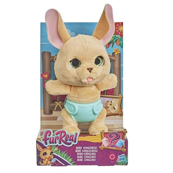 اسباب بازی هاسبرو مدل بچه کانگورو  FurReal Baby Kangaroo