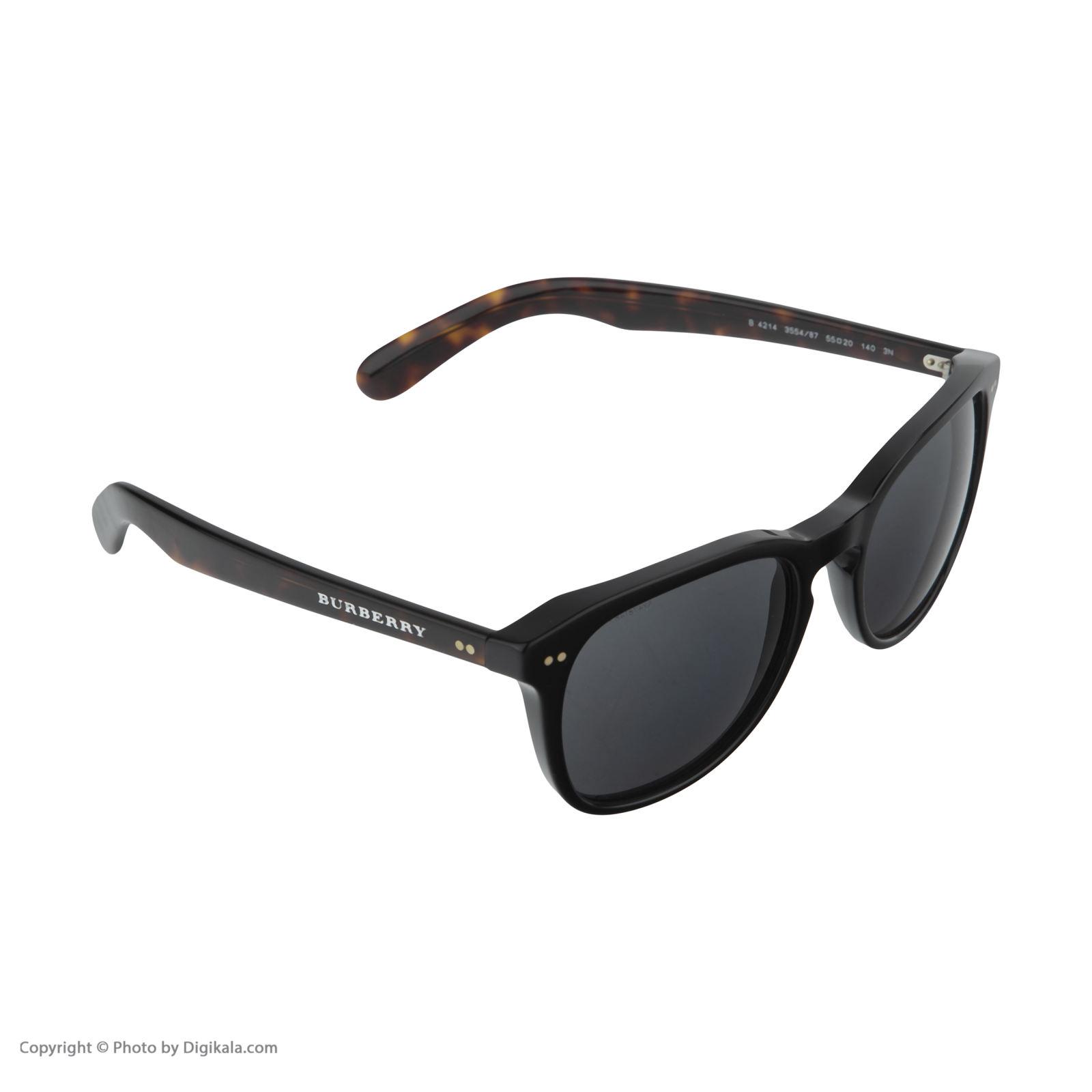 عینک آفتابی مردانه بربری مدل BE 4214S 355487 55 -  - 4