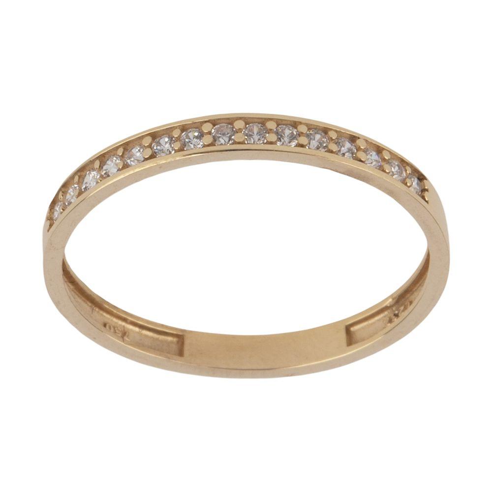 انگشتر طلا 18 عیار زنانه نیوانی مدل NR037