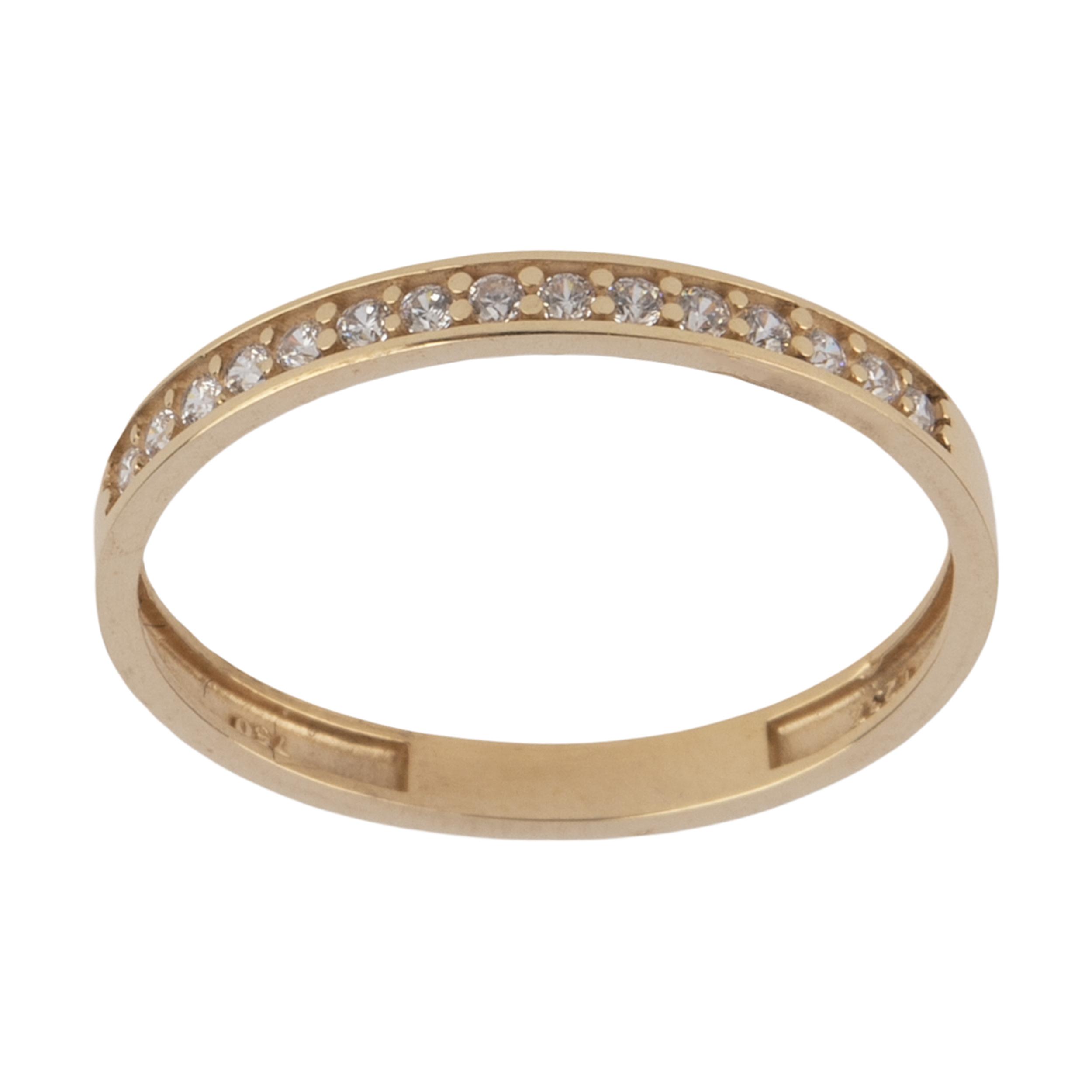 انگشتر طلا 18 عیار زنانه نیوانی مدل NR037 -  - 2