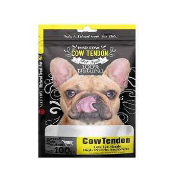 غذای تشویقی سگ مدکاو مدل cow_tendon وزن 100 گرم