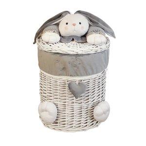 سبد رخت چرک کودک طرح خرگوش کد SL/KH-M