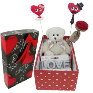 ست هدیه عروسک طرح خرس مدل Ndvs78