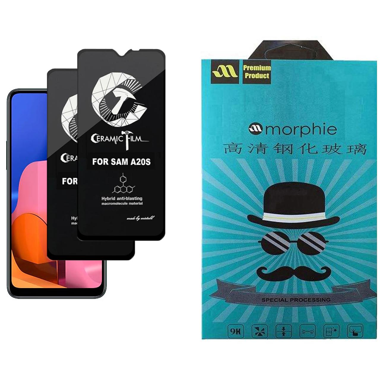 محافظ صفحه نمایش سرامیکی مورفی مدل MEIC_2 مناسب برای گوشی موبایل سامسونگ Galaxy A20S بسته 2 عددی
