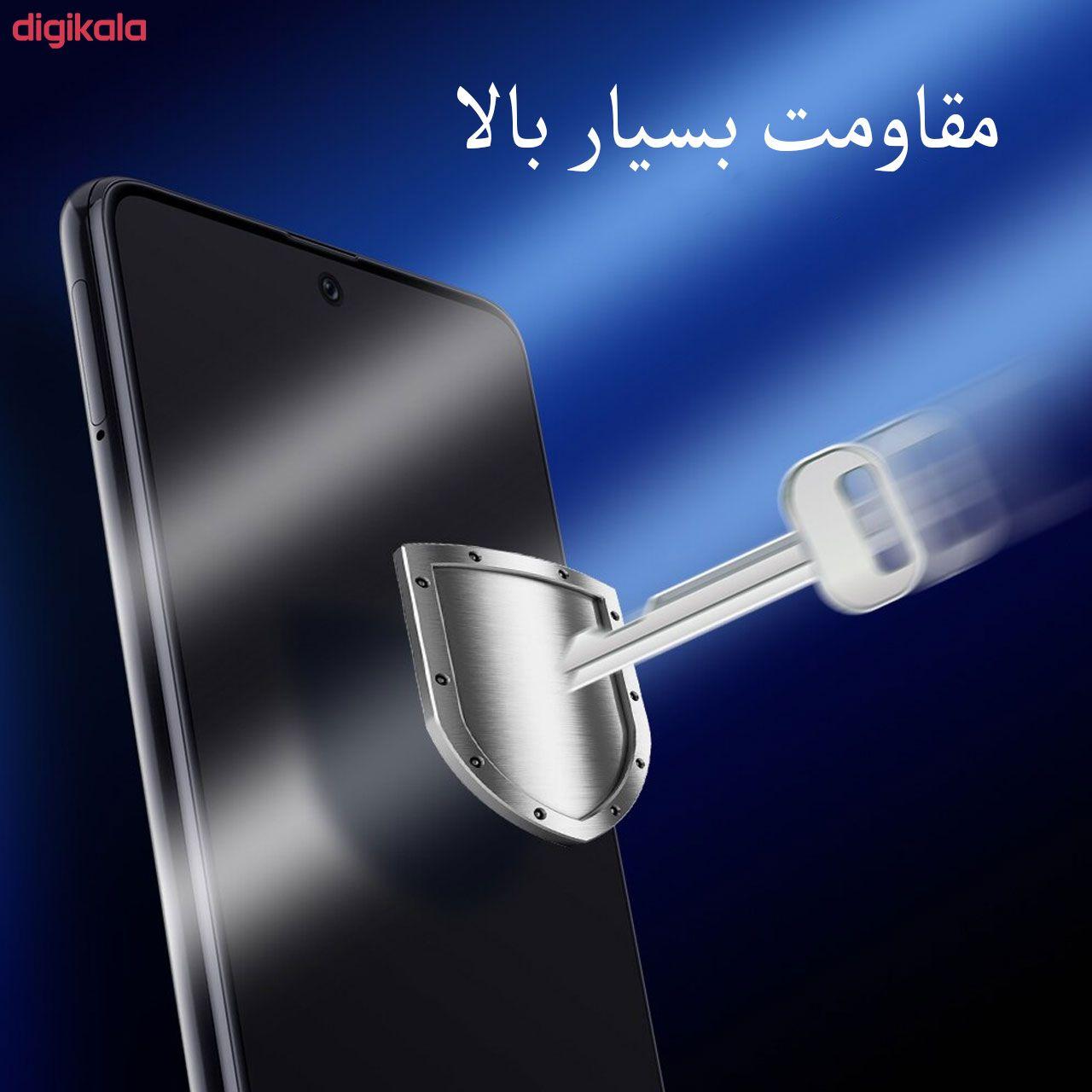 محافظ صفحه نمایش مدل FCG مناسب برای گوشی موبایل شیائومی Redmi Note 9 Pro Max بسته دو عددی main 1 2