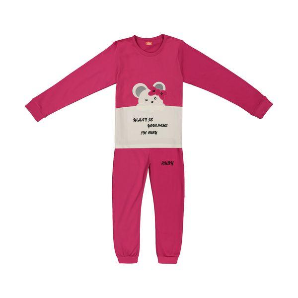 ست تی شرت و شلوار دخترانه مادر مدل 301-66