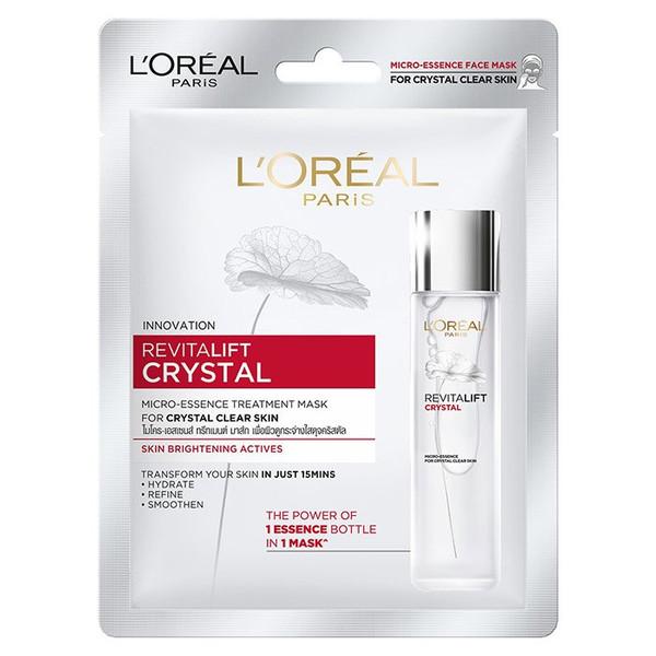 ماسک صورت لورآل مدل Revitalift Crystal حجم 25 میلی لیتر