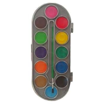 آبرنگ 12 رنگ لوکی کد 8412