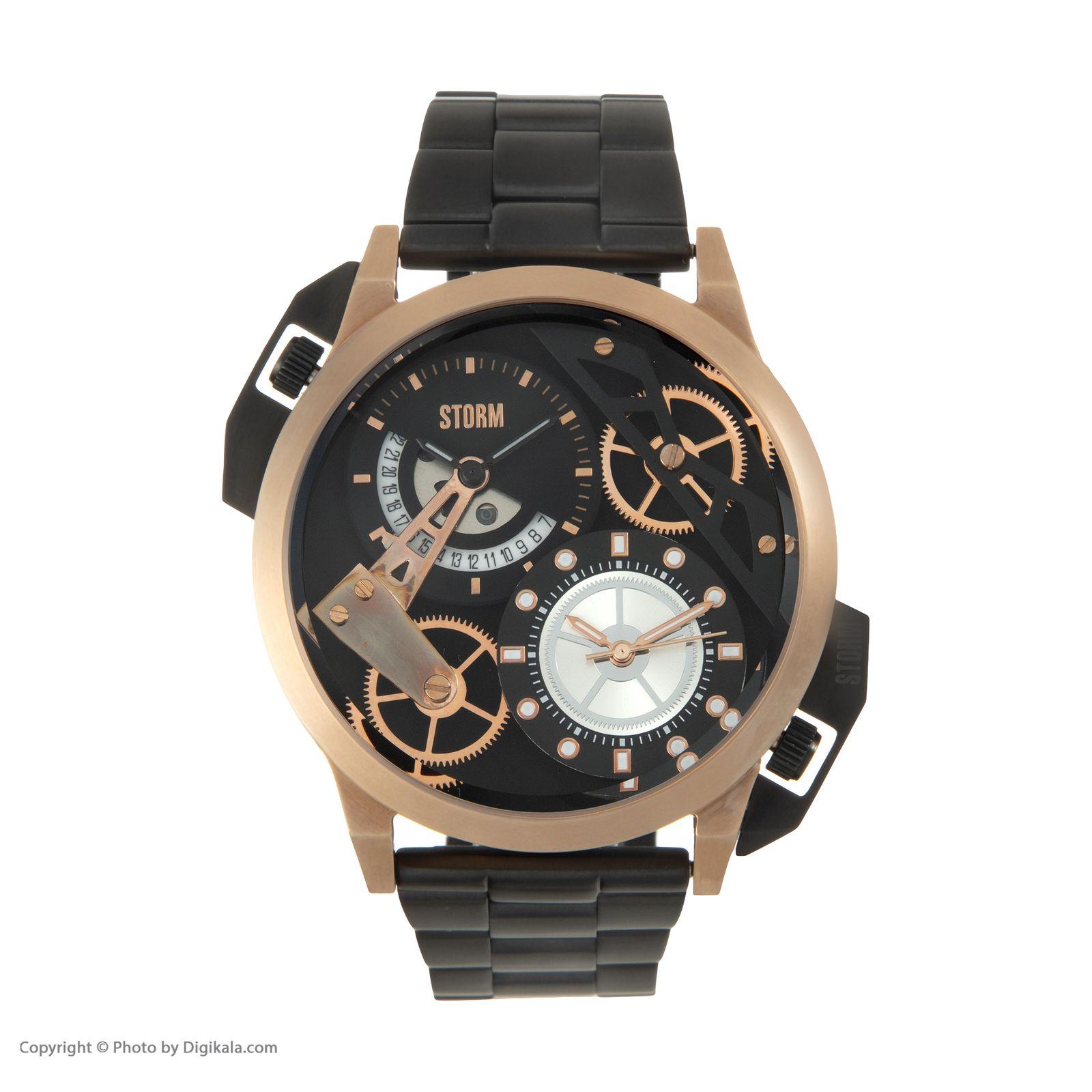 ساعت مچی عقربه ای مردانه استورم مدل ST 47135-RG -  - 3
