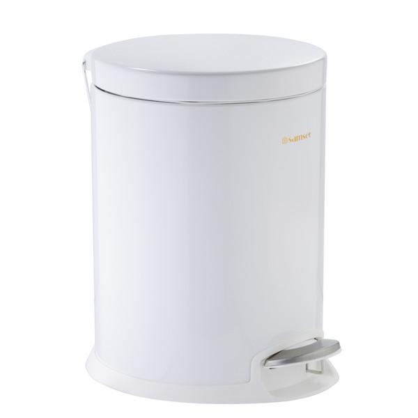 سطل زباله سام ست مدلF طرح  استوانه ای کد 45133 ظرفیت 12 لیتری