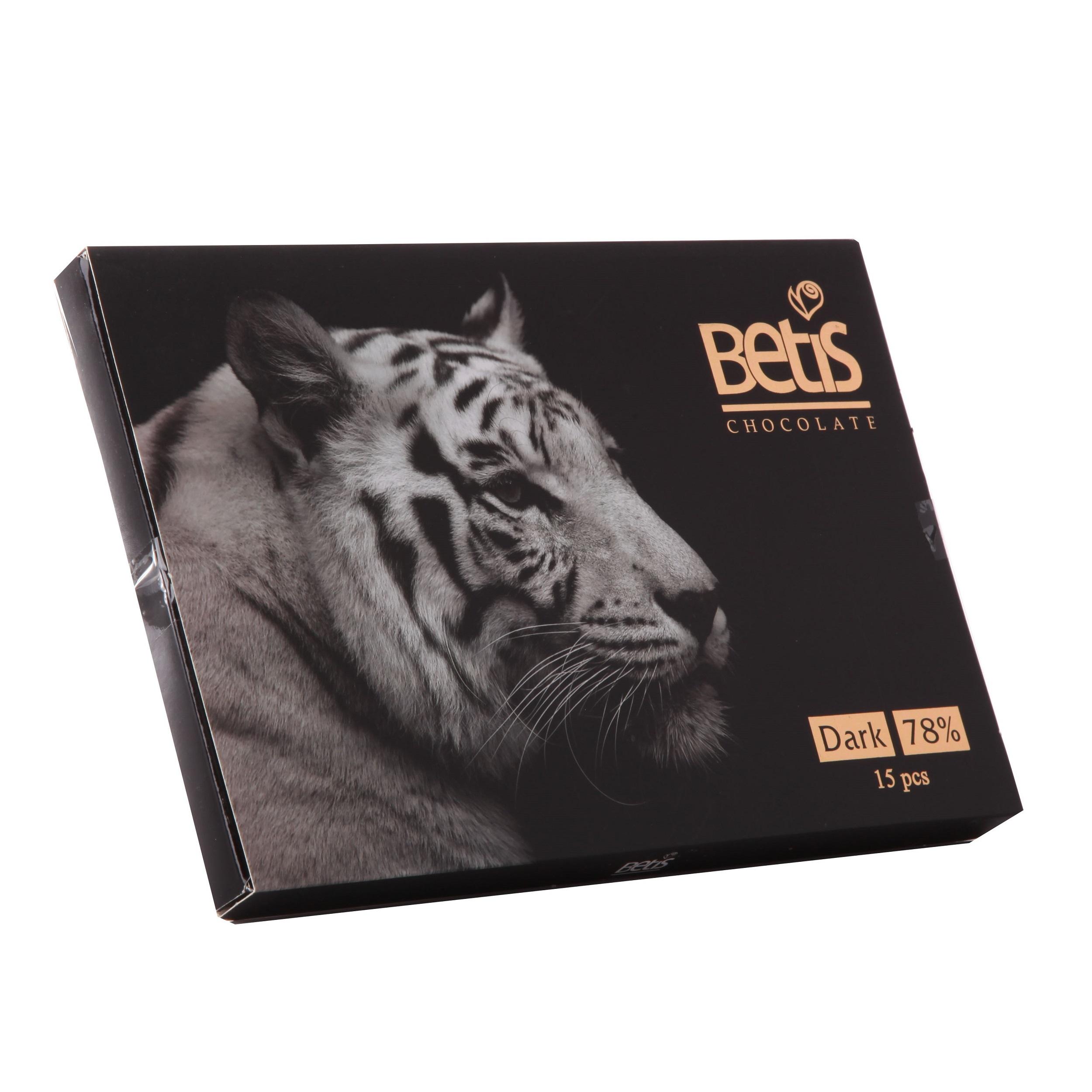 شکلات جعبه ای بتیس سری ببر سیاه - 90 گرم