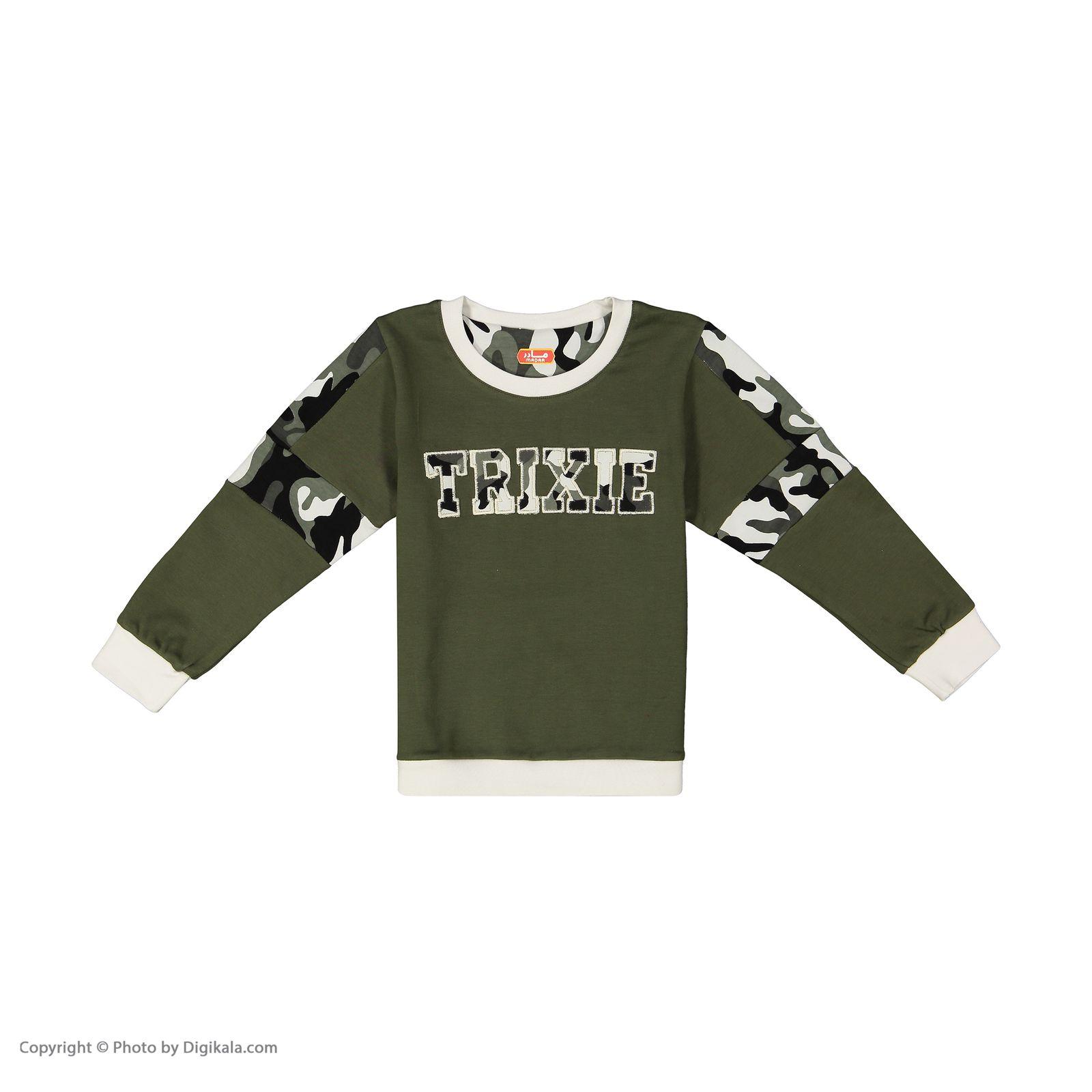 ست تی شرت و شلوار پسرانه مادر مدل 310-49 main 1 2
