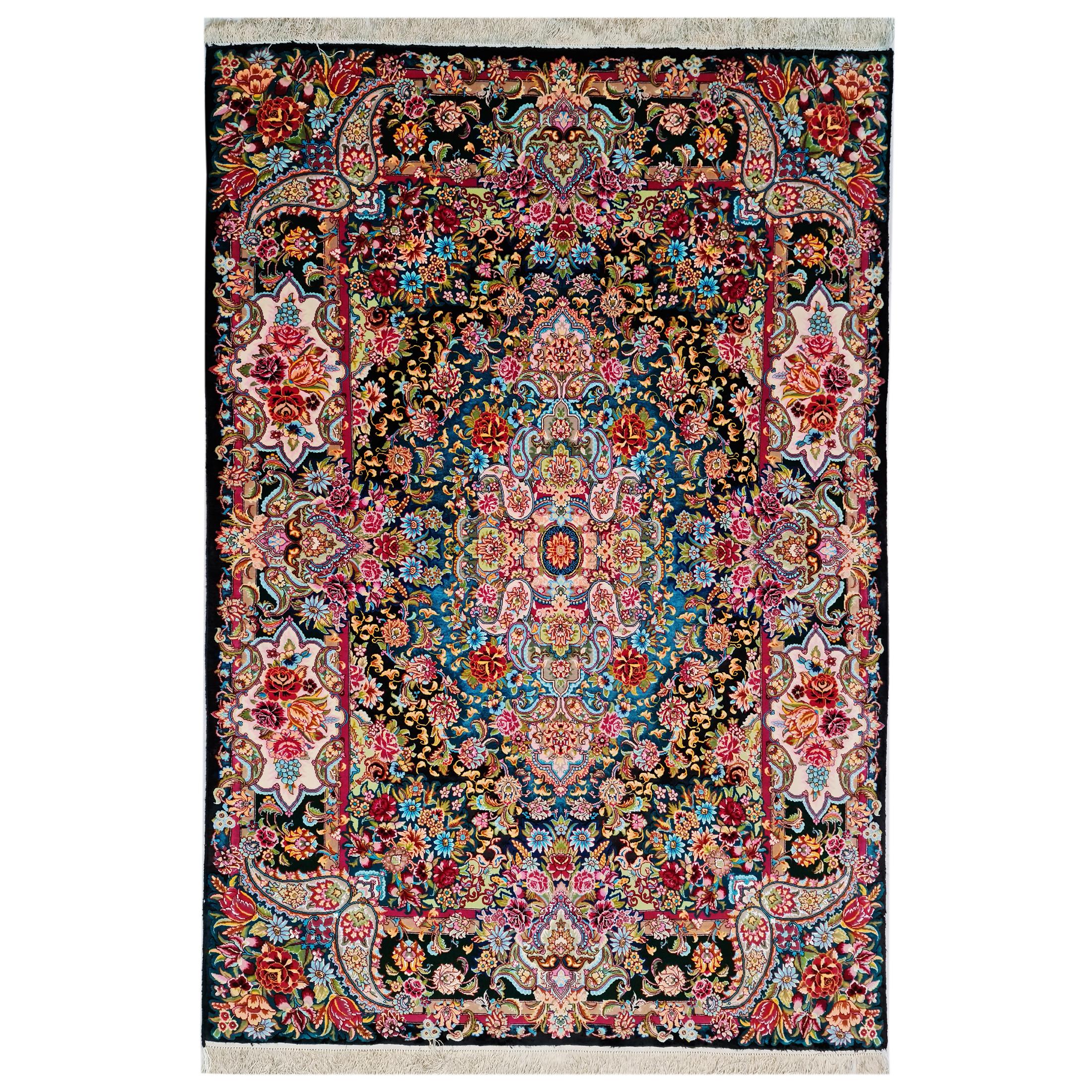 فرش دستبافت سه و نیم متری مدل تبریز کد 508