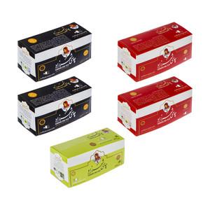 چای کیسه ای شهرزاد - 2 گرم مجموعه 5 عددی