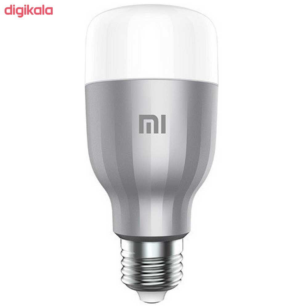 لامپ ال ای دی هوشمند 10 وات شیائومی مدل MJDP02YL پایه E27 بسته 2 عددی main 1 2