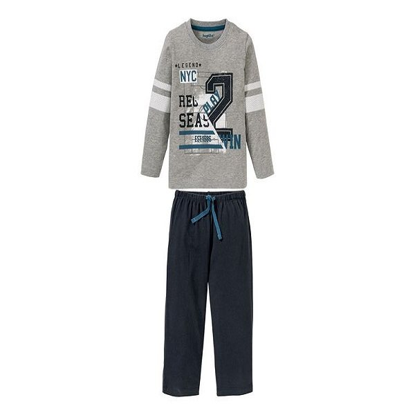 ست تی شرت و شلوار پسرانه لوپیلو مدل NYC0005