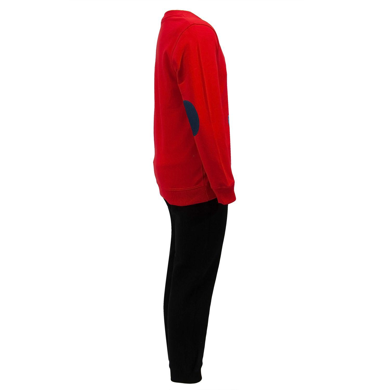 ست سویشرت و شلوار پسرانه طرح خرس عینکی کد 408 رنگ قرمز -  - 6