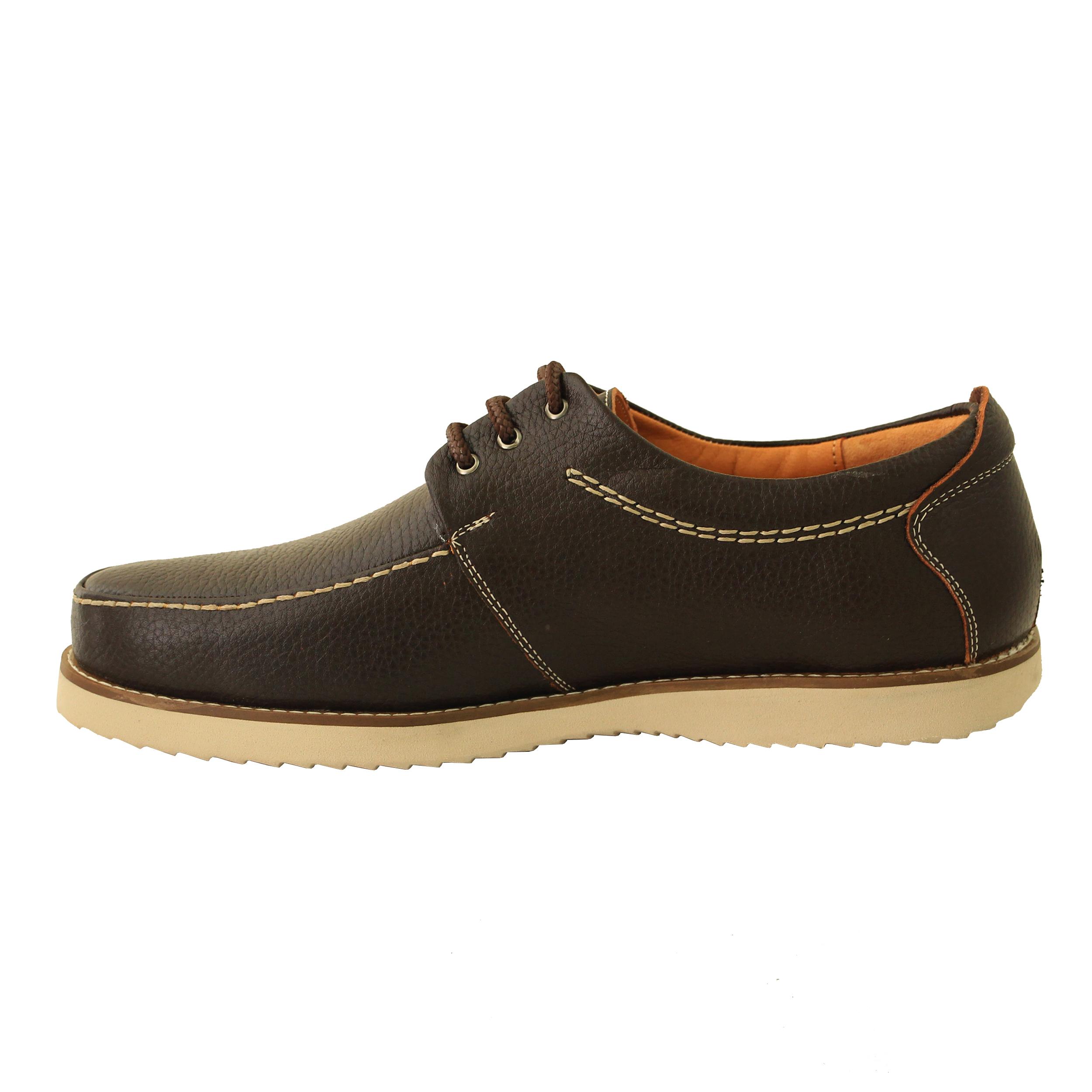 کفش روزمره مردانه آدین چرم مدل DK101.qa