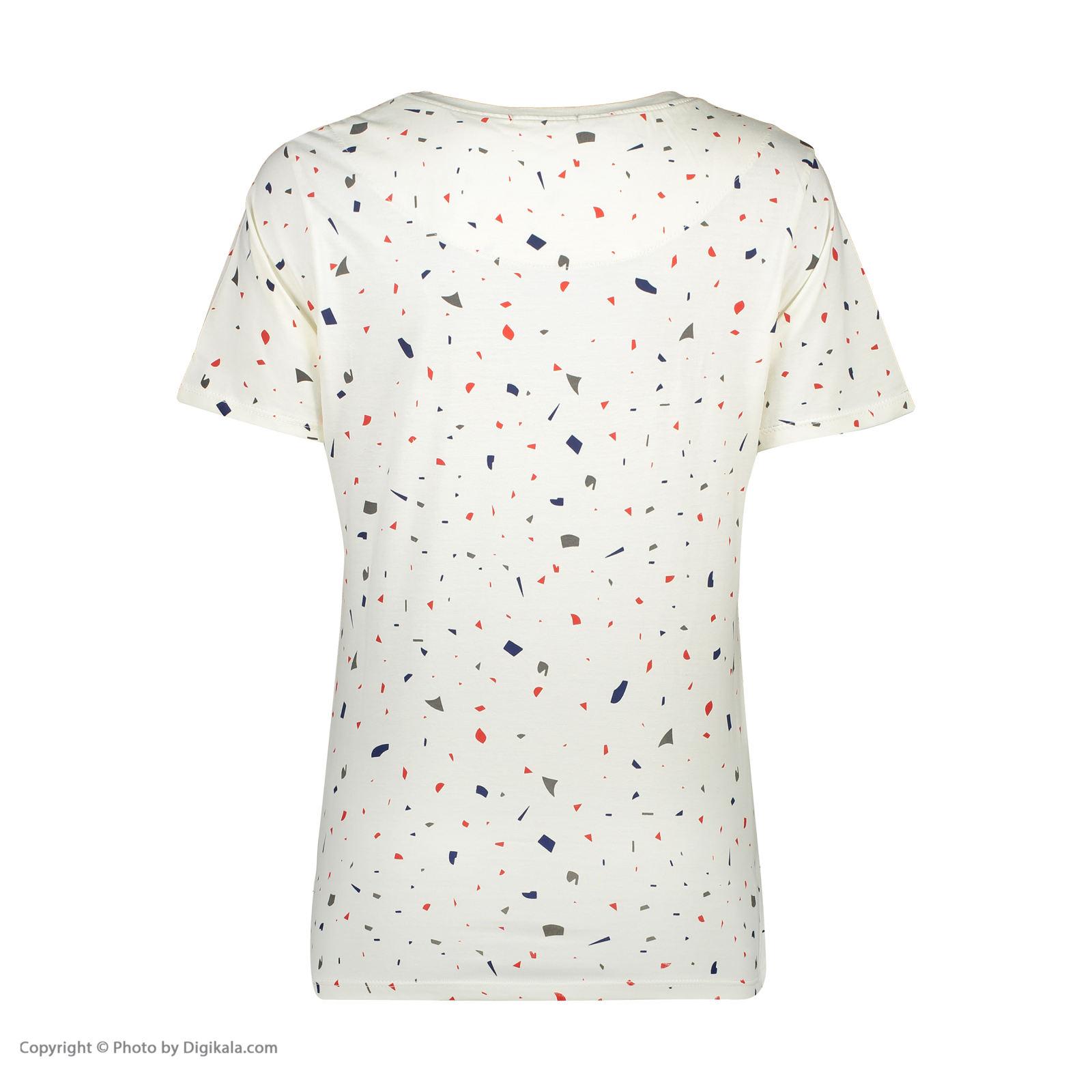 ست تی شرت و شلوارک راحتی زنانه مادر مدل 2041103-67 -  - 6