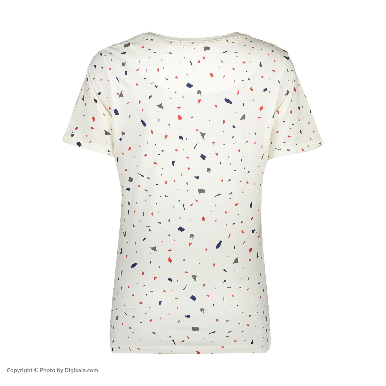 ست تی شرت و شلوارک راحتی زنانه مادر مدل 2041103-66 -  - 5