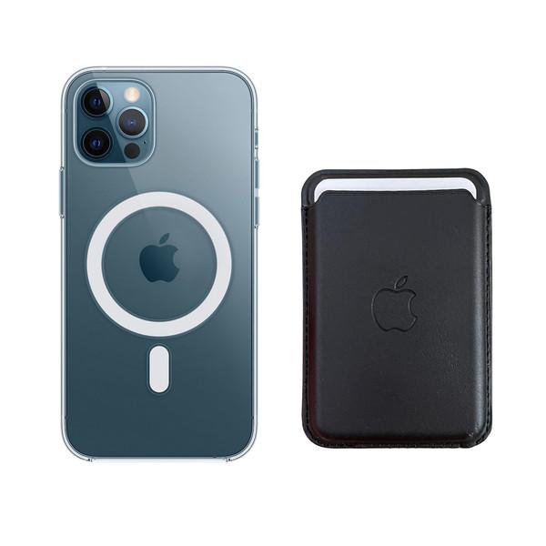 کاور آی دوژی مدل Magsafe مناسب برای گوشی موبایل اپل iphone 12 Pro Maxبه همراه کیف