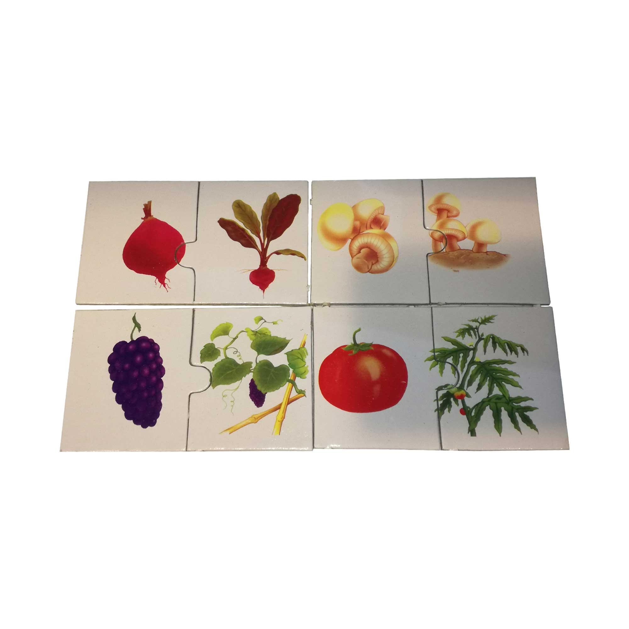 بازی آموزشی مدل میوه و سبزی کد 5237