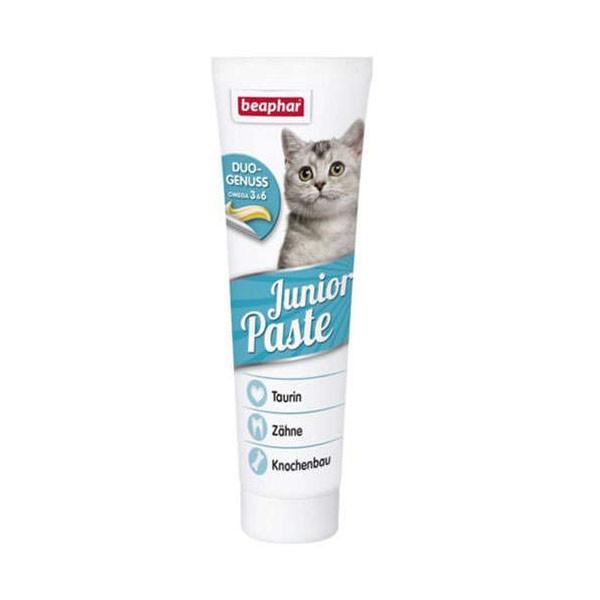 خمیر مالت گربه بیفار مدل  junior paste kitten وزن100 گرم
