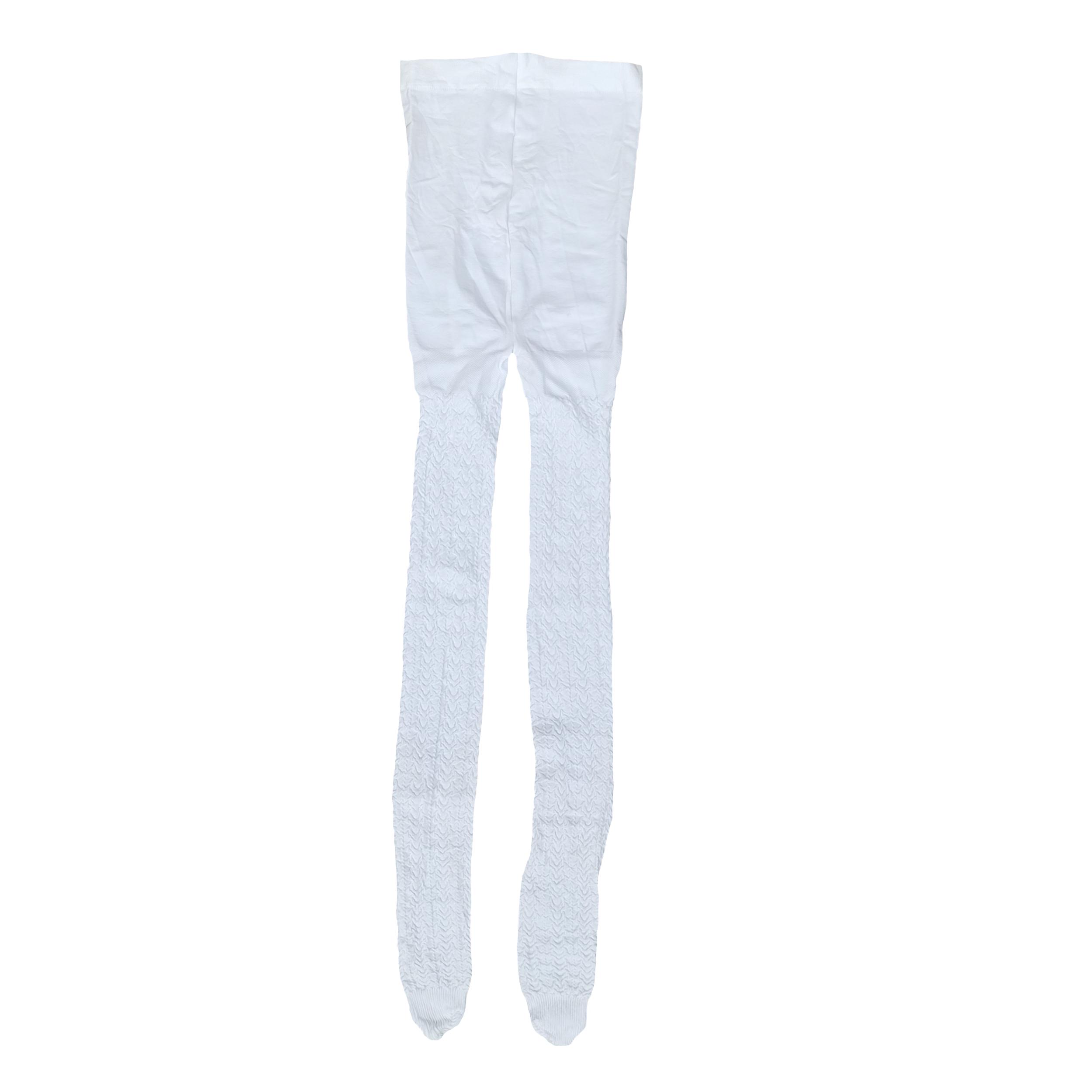 جوراب شلواری دخترانه پِنتی مدل M85 رنگ سفید