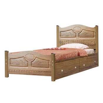 تخت خواب یک نفره کد GO01 سایز 90x200 سانتیمتر